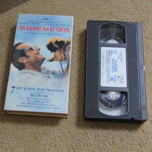 As Good as it Gets VHS